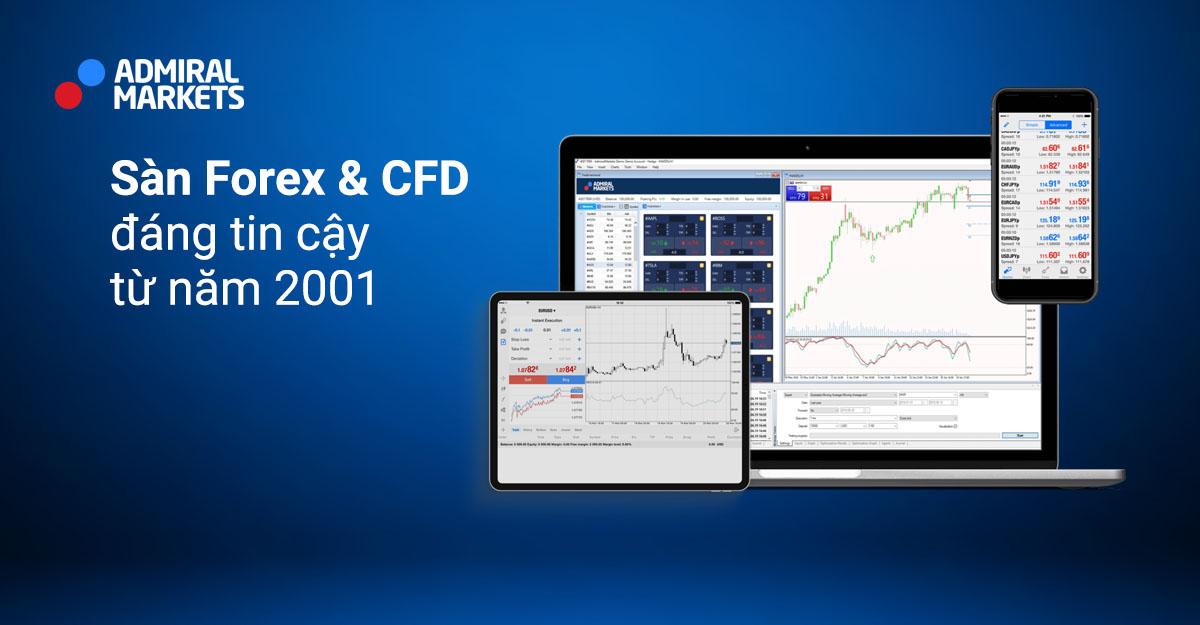 Admiral Markets: Giao dịch Forex, CFD, hàng hóa CFD và hơn thế nữa với một nhà môi giới trực tuyến đã giành giải thưởng. - Admiral Markets
