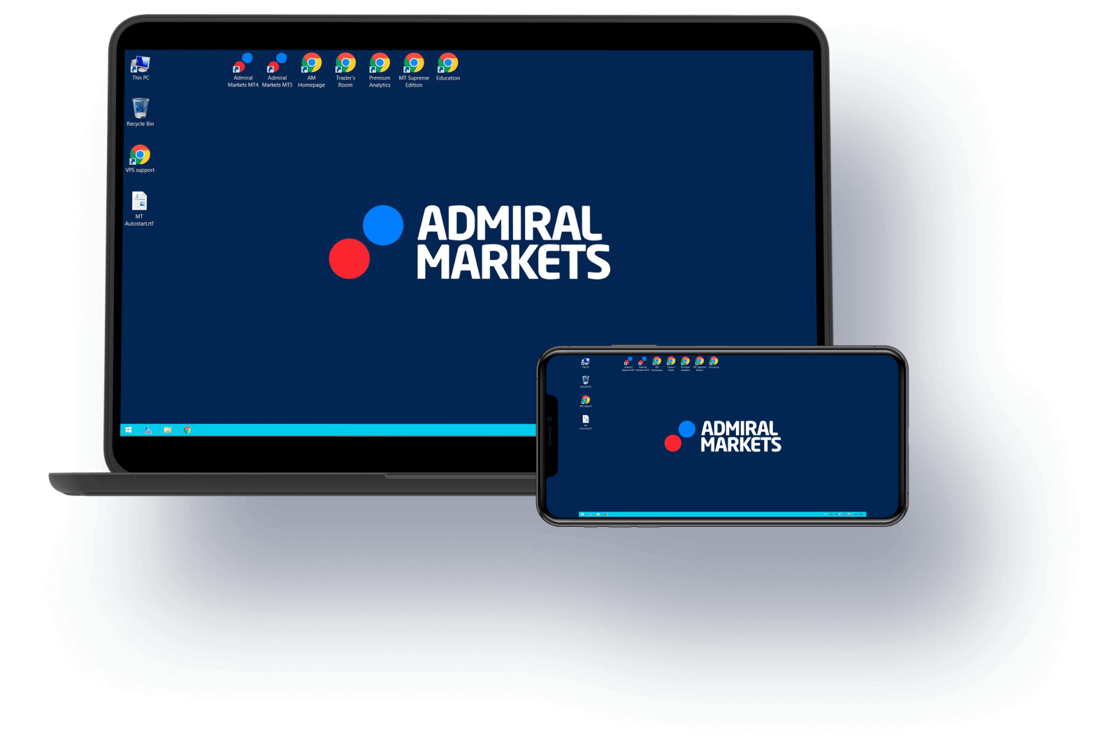 Virtual Private Server(VPS) az Admiral Markets-el